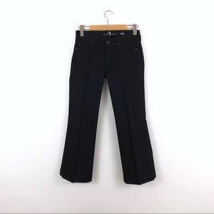 7 For All Mankind 7FAM Black Dojo Jeans